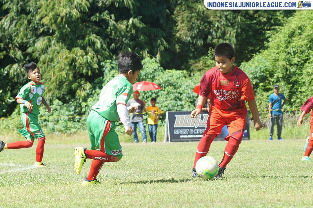 [U9 - 1 APRIL 2018] BHAYANGKARA TIGARAKSA FS VS CISS SOCCER SKILL