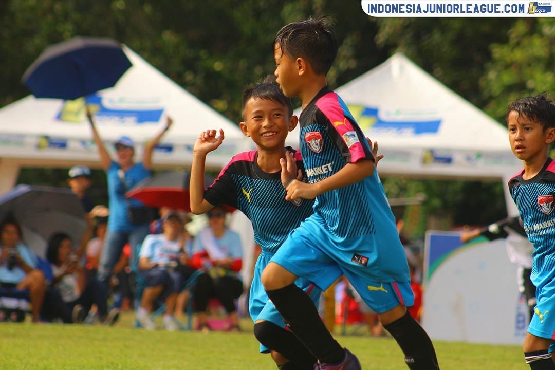 Alvino David Felicio Tutupoly Buat Taring Serpong City U-9 Semakin Tajam