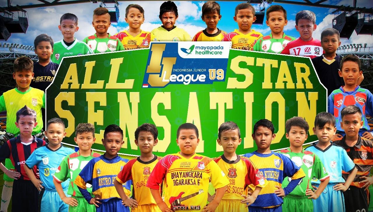Berikut Susunan Pemain IJL Mayapada All Stars Sensation U-9
