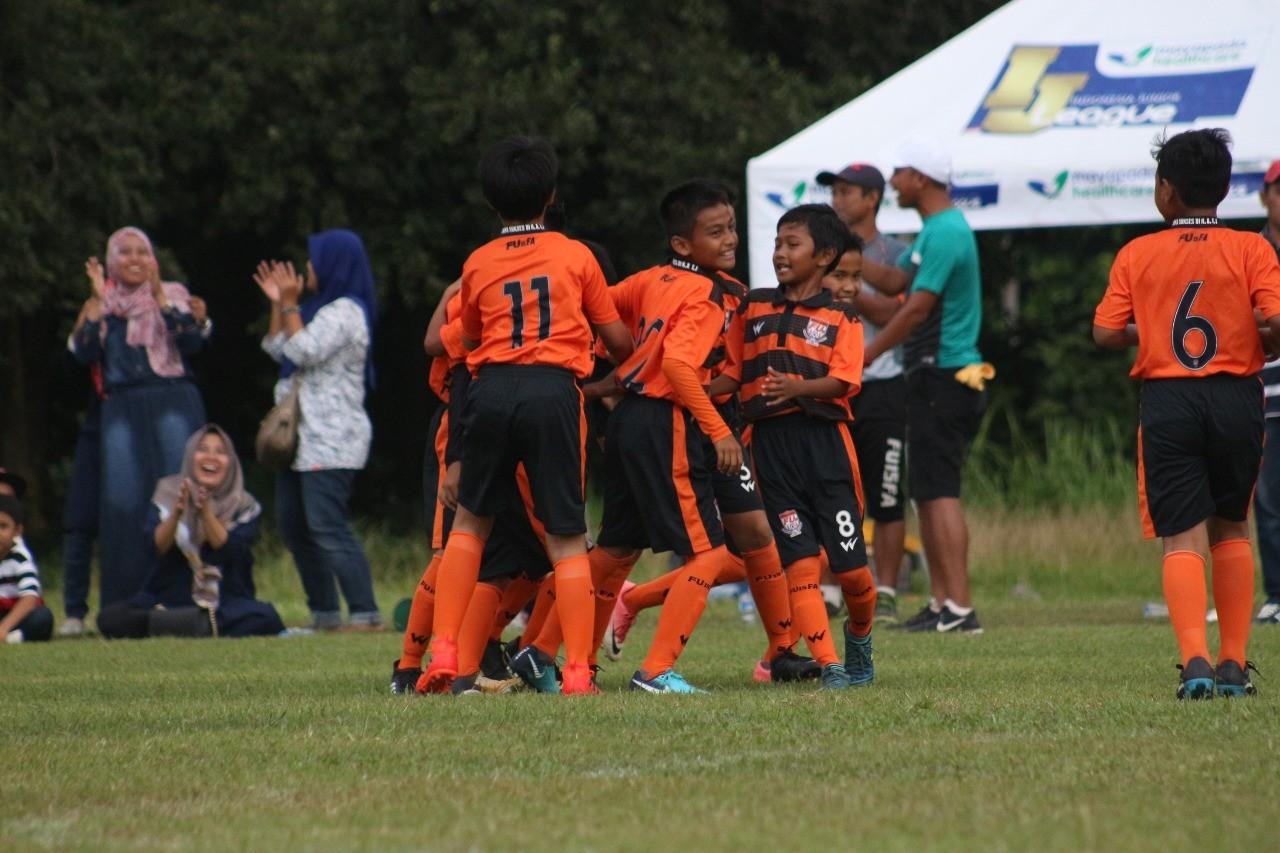 Mentalitas Sang Juara Bertahan, FU15FA Bina Sentra U-11 Perlahan Keluar dari Mimpi Buruk