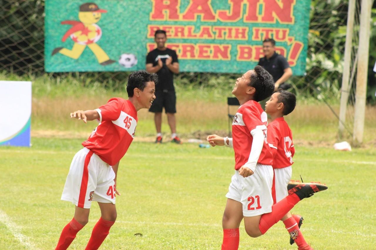 Lupakan Gol Telat Rifal, Indonesia Rising Star U-11 Benahi Konsentrasi Pemain