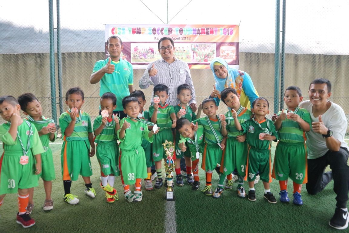 Ide Cerdas Gaungkan Have Fun With Soccer, CISS Soccer Skill Gandeng Anak-anak TK