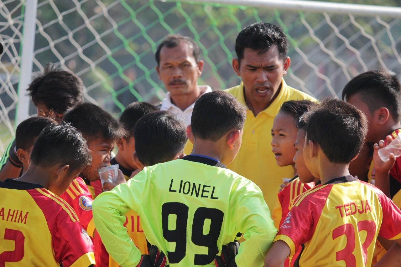 Juru Taktik Salfas Soccer Termotivasi Tebar Kejutan