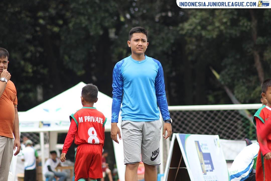 Ujian Mental untuk Pelatih Muda M'Private Soccer School U-9