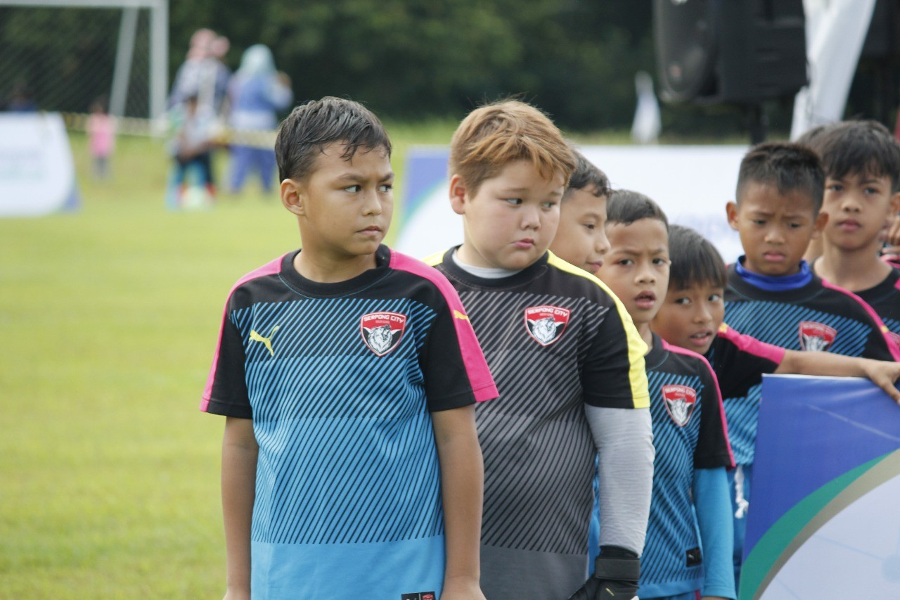 Diego Andres Sinathrya Siap Pimpin Serpong City Soccer School U-9 untuk Move On
