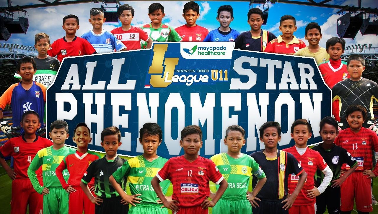 Berikut Susunan Pemain IJL Mayapada All Stars Phenomenon U-11