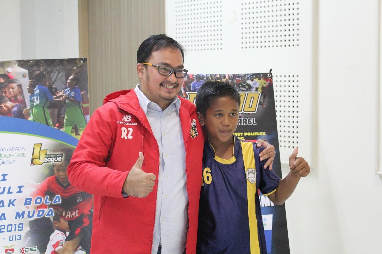 Rifal Sudah Tak Sabar Berhadapan dengan Skuat CISS Soccer Skill