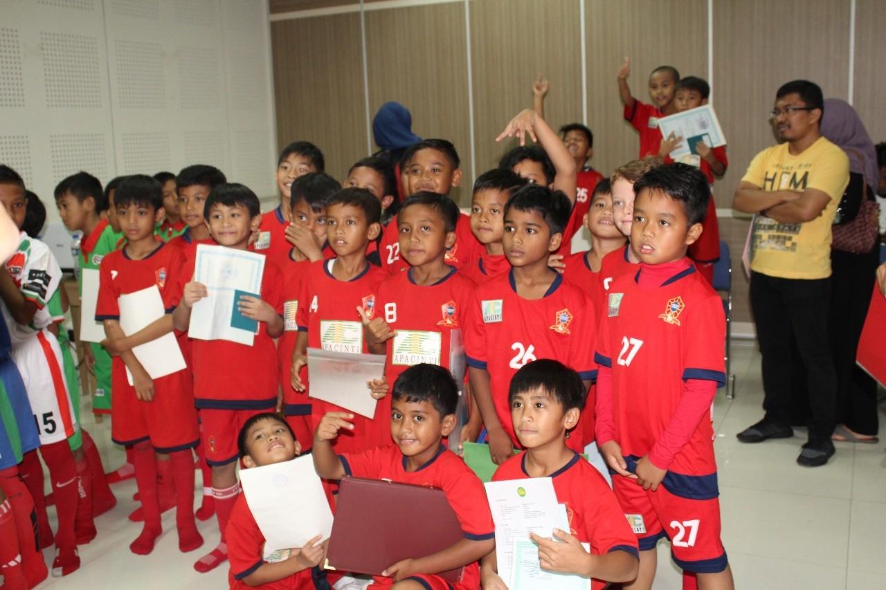 Pernah Dibekuk Serpong City Soccer School Jadi Motivasi Tambahan untuk ASIOP Apacinti U-9