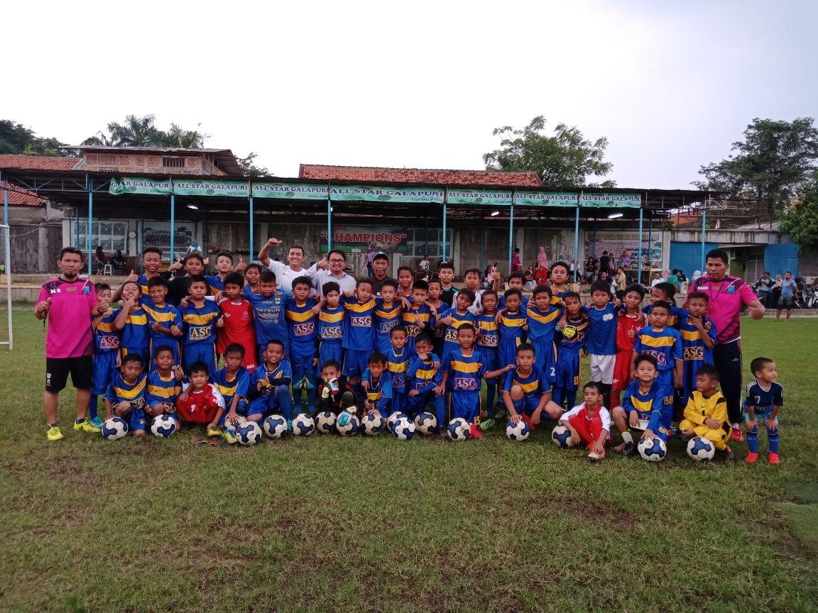 Dikunjungi IJL Elite, Pendiri All Star Galapuri Terkenang Mendiang Ronny Pattinasarani