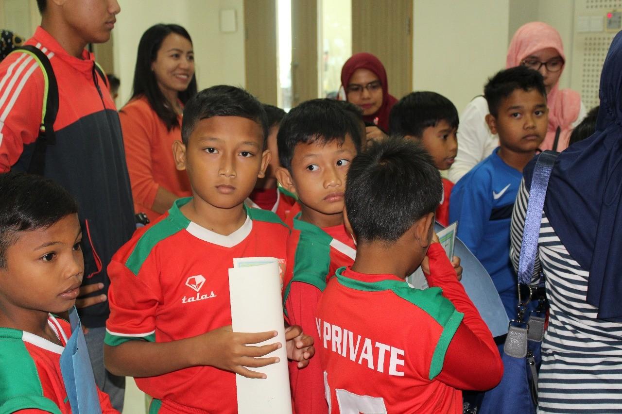 Panaskan Mesin, M'Private Soccer School Bidik GMSA