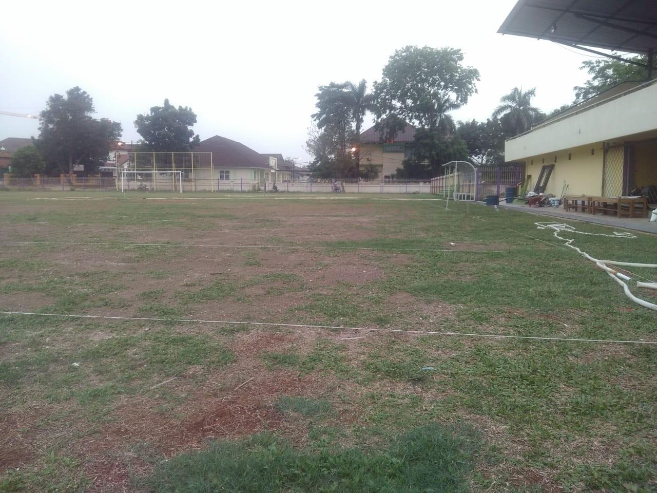 Merias Wajah Stadion Mini Cisauk