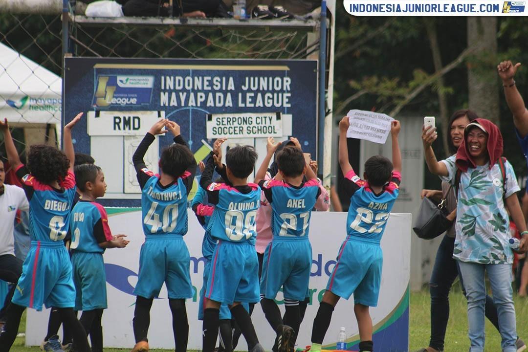 Selebrasi Khusus dan Kemenangan Manis Serpong City U-9 untuk Mendiang Om Piet