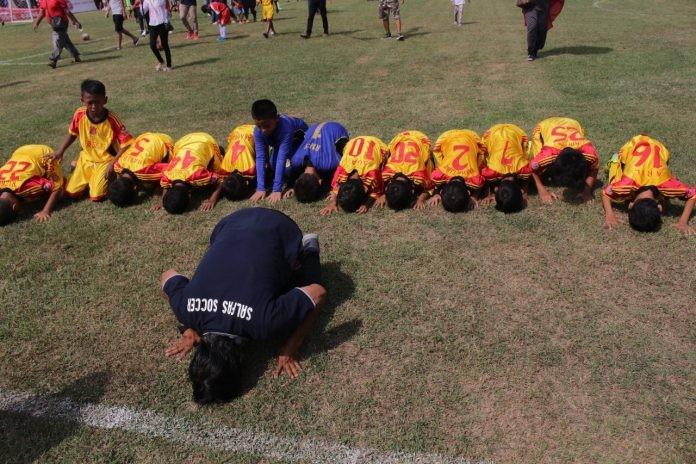 Status Juara Bertahan Indonesia Junior League Tidak Membuat Salfas Soccer U-9 di Atas Angin