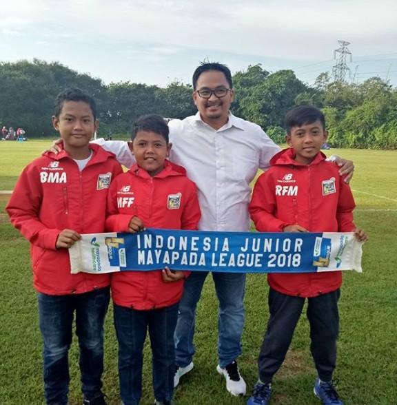 Cara Melepas Rindu Trio FBR Buat CEO Indonesia Junior League Tersenyum
