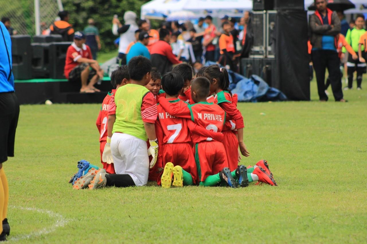 'Deja Vu' di Laga M'Private Soccer School versus Ragunan Soccer School