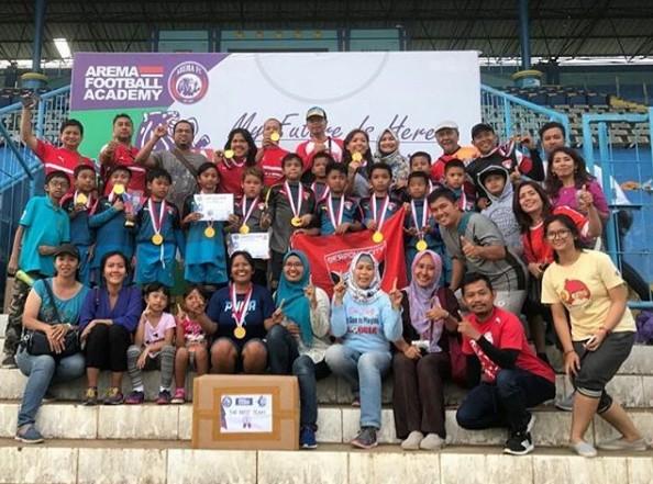 Serpong City Soccer School U-11 Bawa Modal Berharga dari Bumi Arema